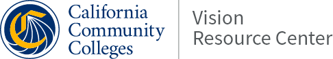 California Community Colleges Vision Resources Center